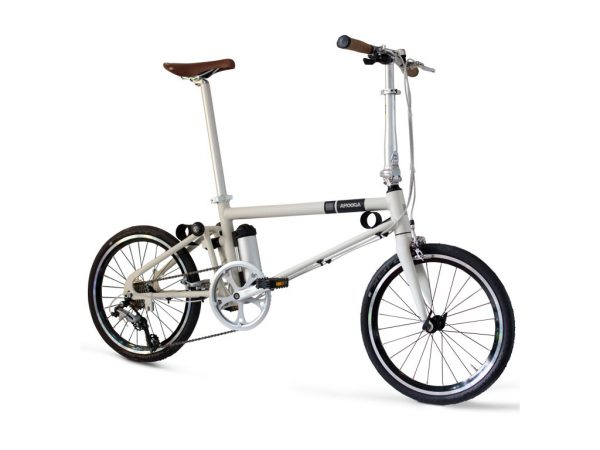 Bici Ahooga pieghevole essenziale elettrica