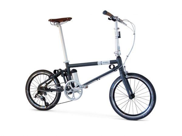 Le bicicletta elettrica pieghevole Ahooga con il sistema PEDELEC