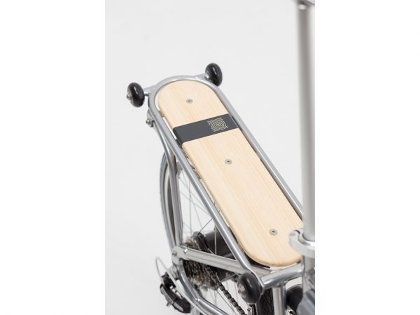 Portapacchi bici Ahooga pieghevole 1