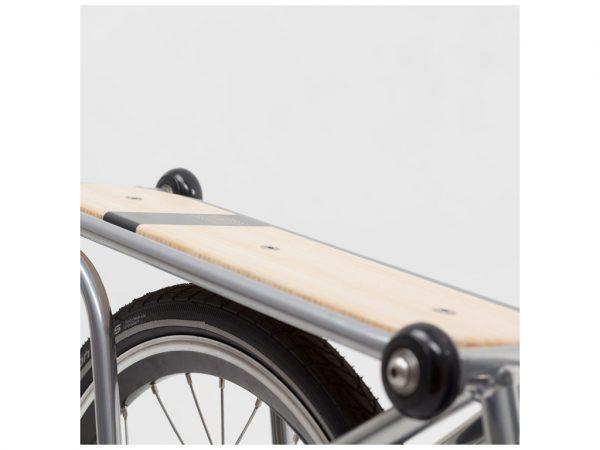 Portapacchi bici Ahooga pieghevole 3