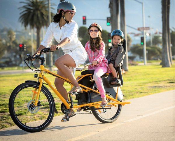 YUBA mundo lusso-bici da carico per trasportare i bambini
