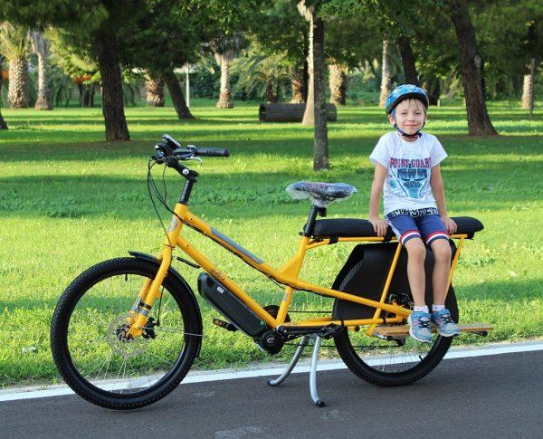 cuscini passeggero per bici yuba