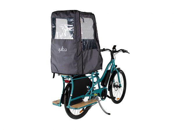 Baldacchino parapioggia per bici YUBA
