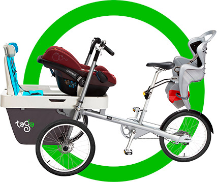 review taga bike family